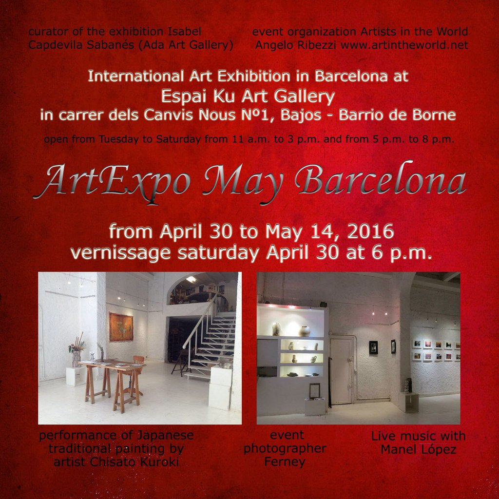 ¡Art Expo May Barcelona!